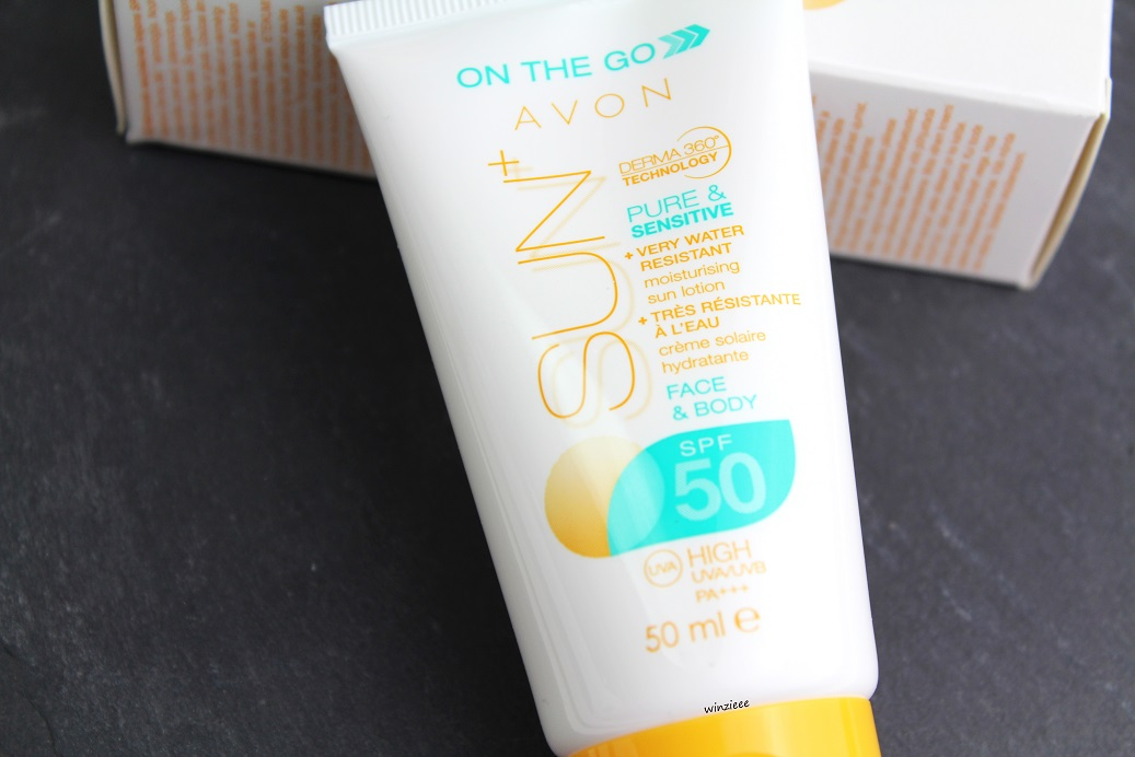 AVON on the go sun+