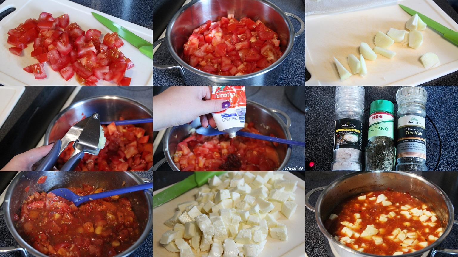 Anleitung Tomaten Soße
