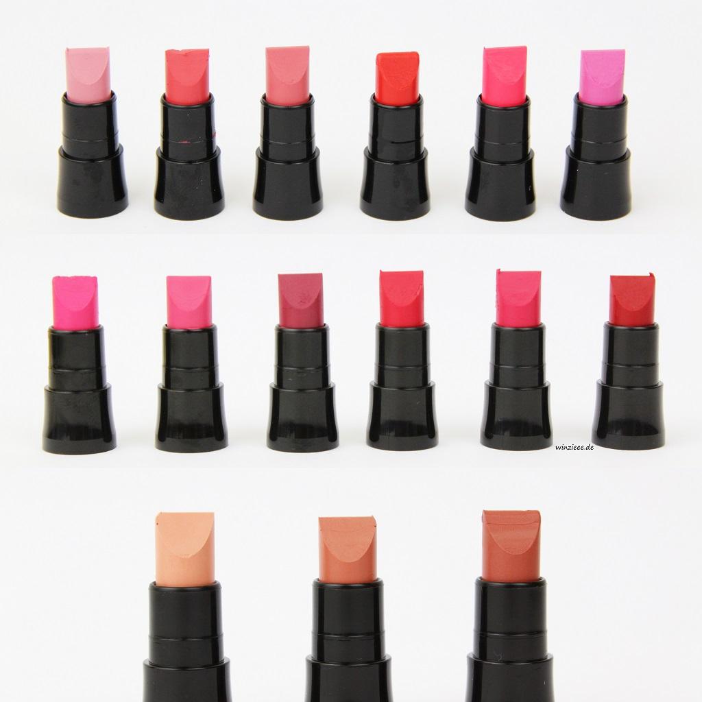 Avon True Colour Perfectly Matte Lippenstifte