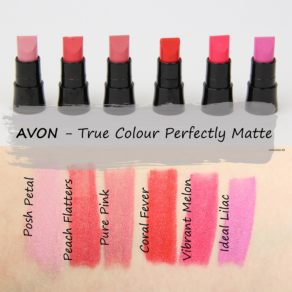Avon True Colour Perfectly Matte