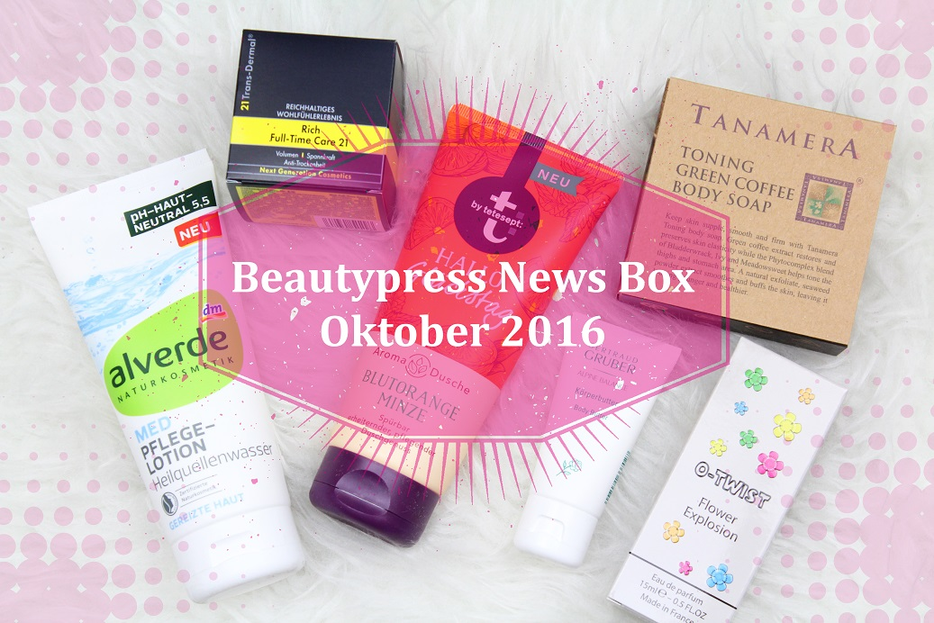 Beautypress News Box Oktober 16