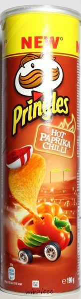 Hot Paprika Chilli Pringles