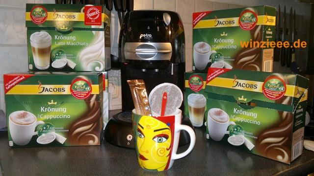 Jacobs Krönung Cappuccino für die Padmaschine