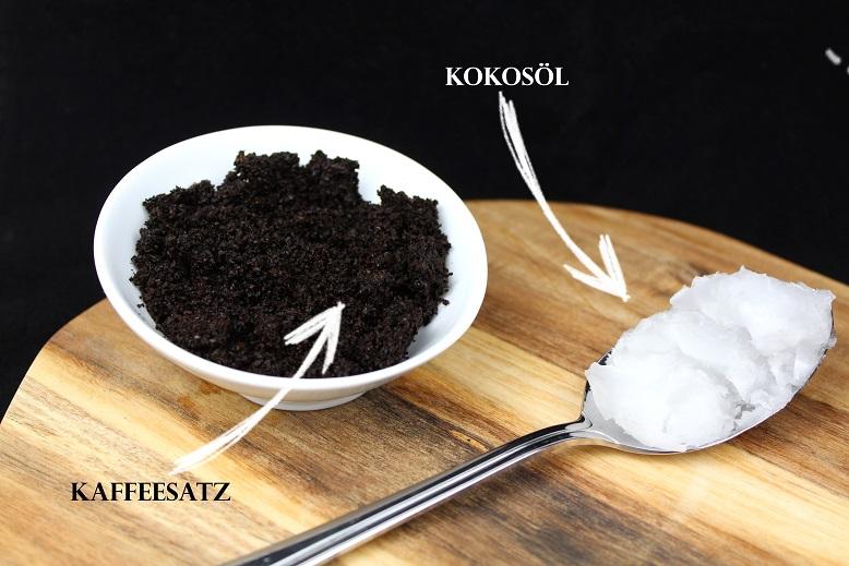 Kaffeesatz Peeling diy kaffee peeling selber machen einfache anleitung