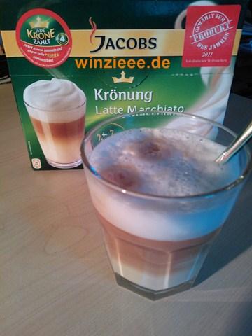 Latte Macchiato von Jacobs Krönung