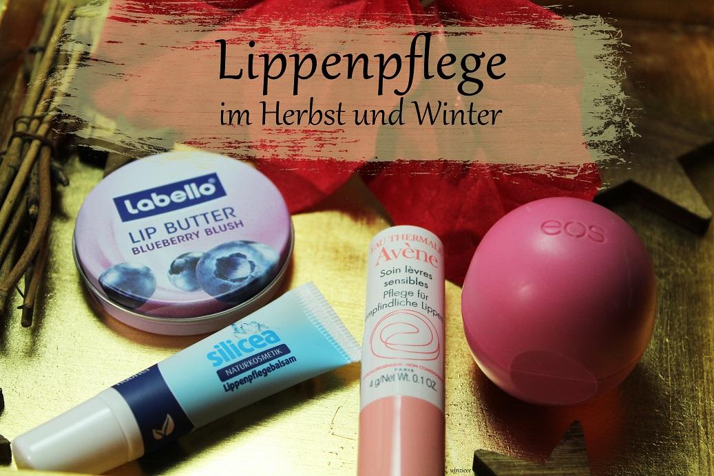 Lippenpflege Herbst Winter