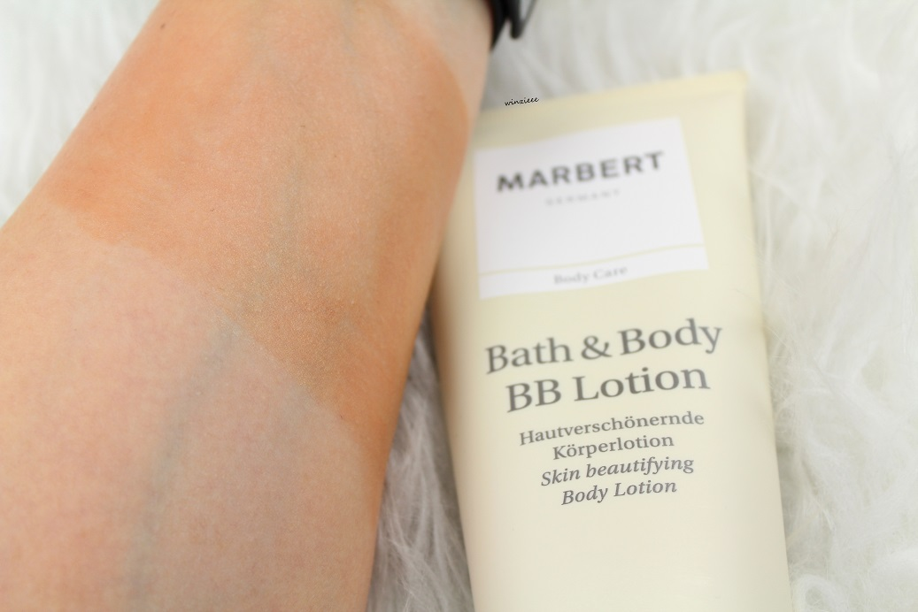 MARBERT Bath Body BB Lotion