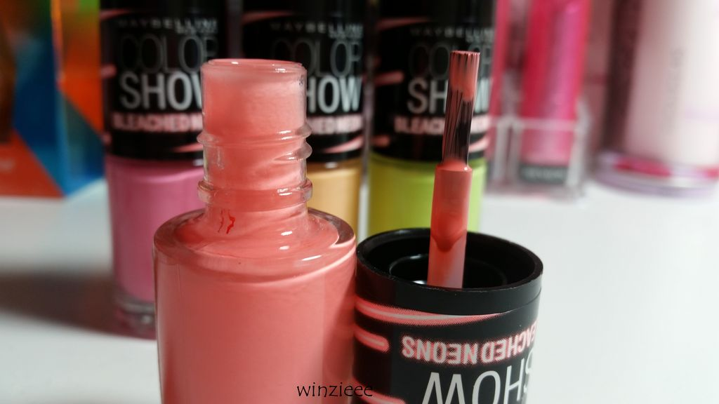 Maybelline Pinsel Bleached Neons