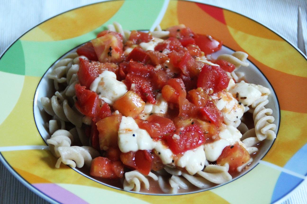 Nudeln Tomaten
