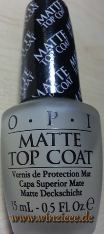 Sephora opi matte top coat
