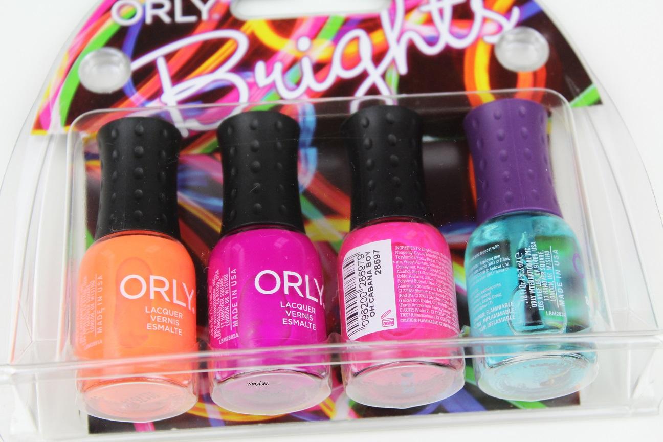 ORLY Brights Mini Kit