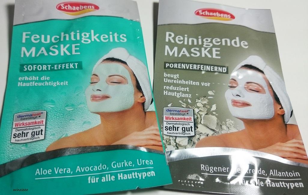 Schaebens Gesichtsmasken neu