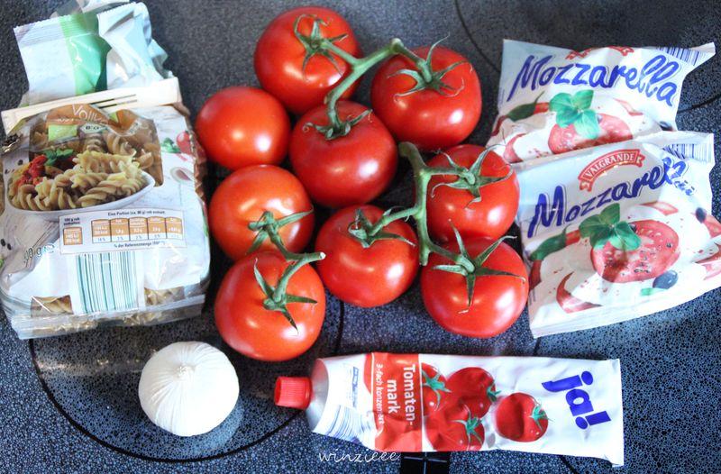 Zutaten Tomatensoße