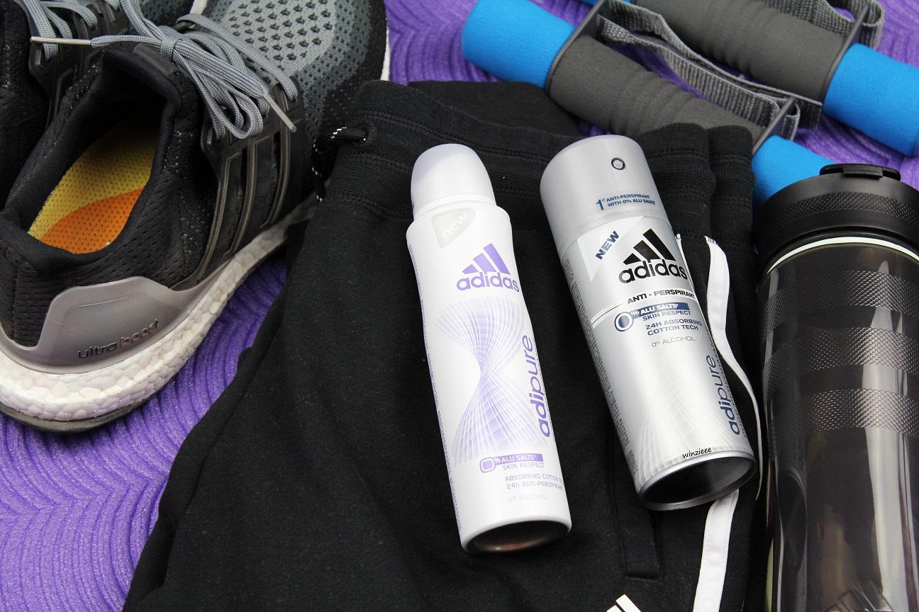 Erfahrung: adidas adipure  AntiTranspirant ohne Aluminium