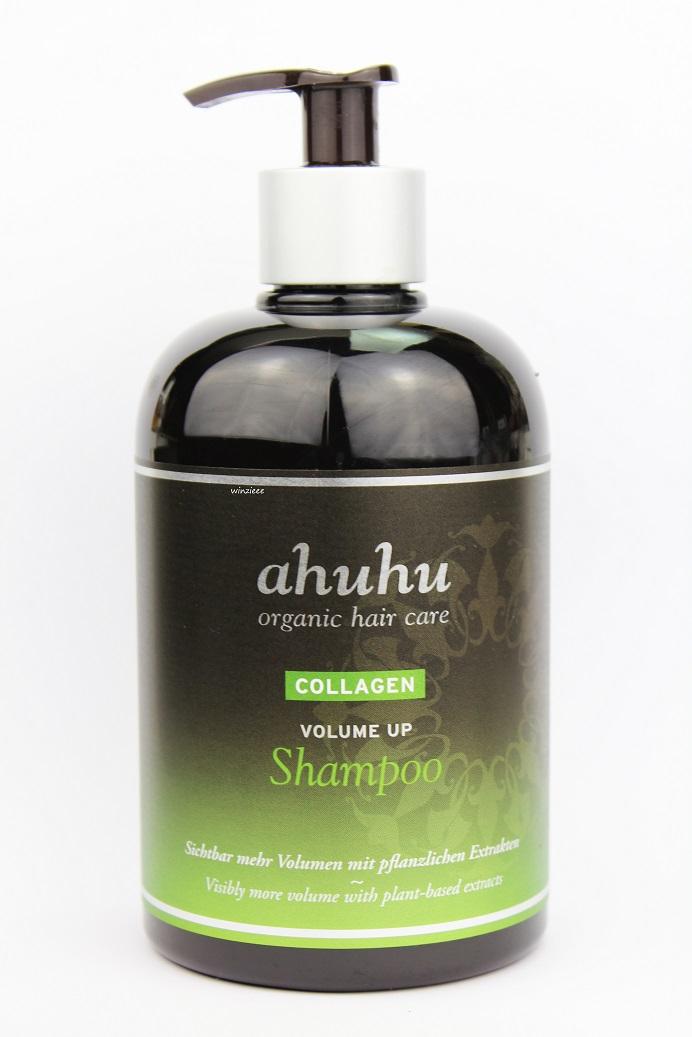 ahuhu collagen volume up shampoo