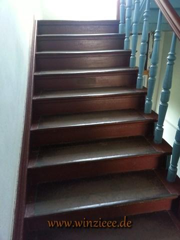 boese Treppe