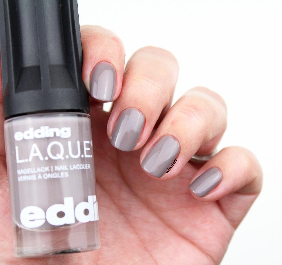 edding nagellack greedy grey