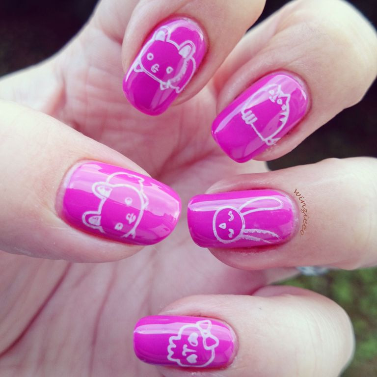 essie too taboo stamping