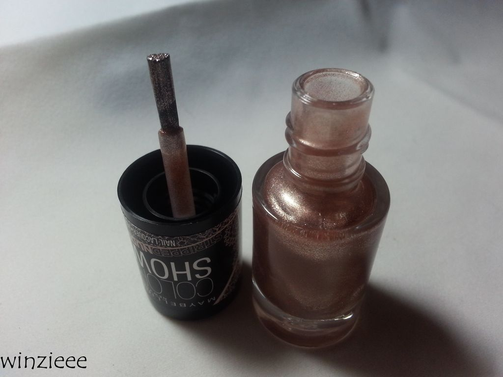 maybelline stripped nudes 9