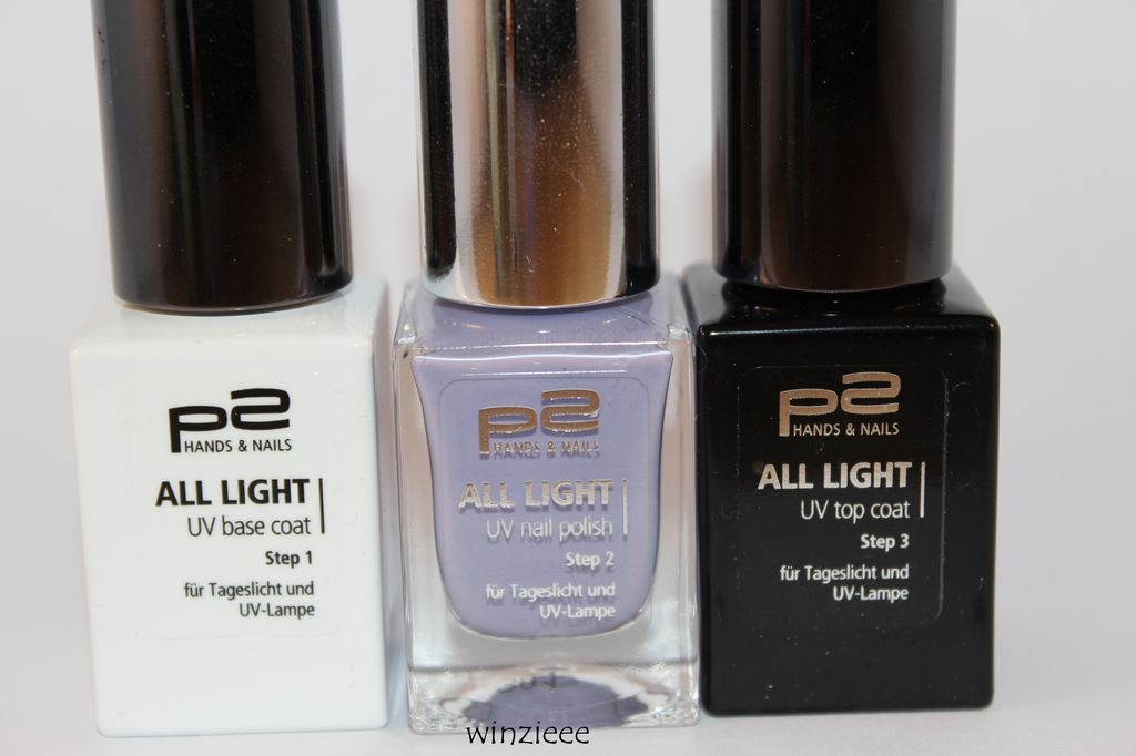 p2 all light nagellacke