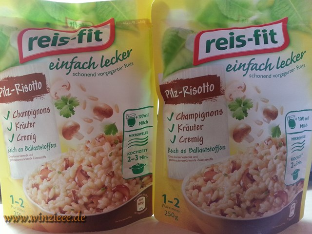 reis-fit Pilz-Risotto