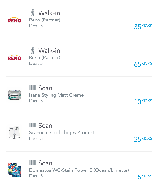 shopkick shopping app